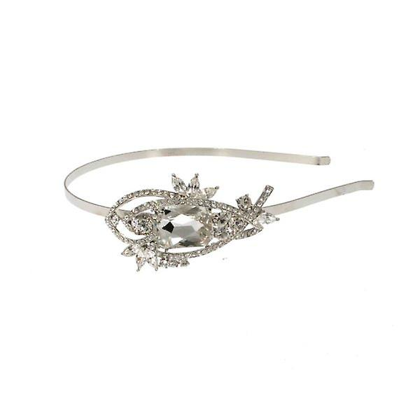 W.A.T Square Swarovski Crystal Hairband