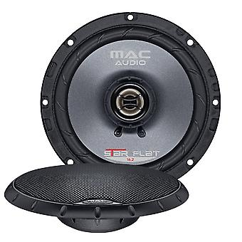 Mercancías de B 1 de par Mac audio 16.2 plana estrella, 165 mm 2-way coaxial Altavoz