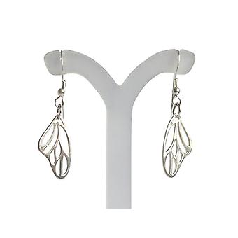 Earrings butterfly wings 925 Silver small Butterfly silver