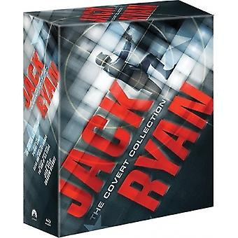 Jack Ryan 1-5 kollektion (5-disc Blu-ray)