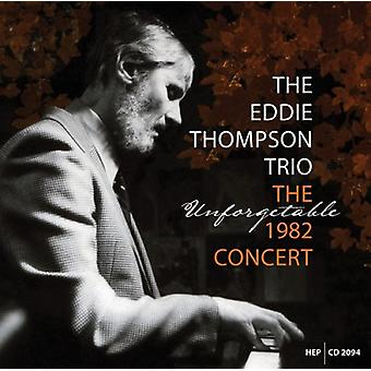 Thompson, Eddie/Trio/Jim Hall - 1982 koncert [CD] USA importerer