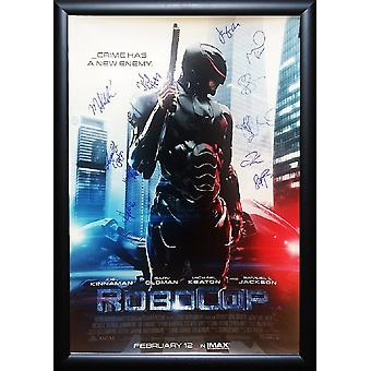 Robocop - Signed Movie Poster