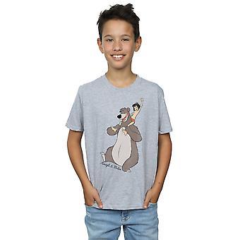 Disney Boys The Jungle Book Classic Mowgli and Baloo T-Shirt