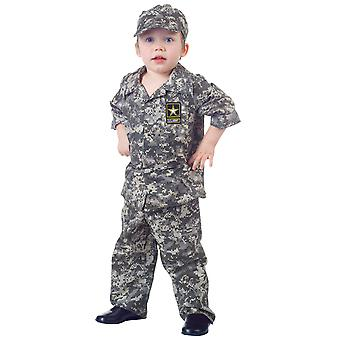 Army Camo Military Soldier Commando Book Week Toddler Boys Costume