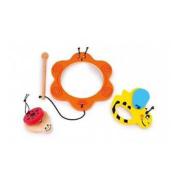 Legler Set Music  animals  (Toys , Educative And Creative , Music , Instruments)