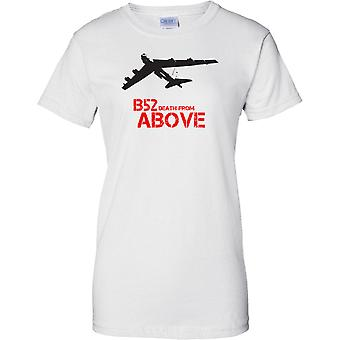 B52 Death From above - Stratofortress US Bomber - Ladies T Shirt