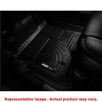 Husky Liners 98081 Black WeatherBeater Front & 2nd Seat FITS:CHRYSLER 2011 - 20