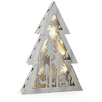 Legler Illuminated Shabby Chic Christmas Tree small