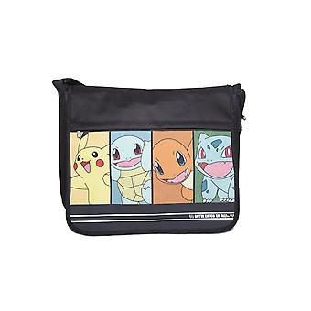Pokemon Messenger Bag Characters Pikachu new Official black
