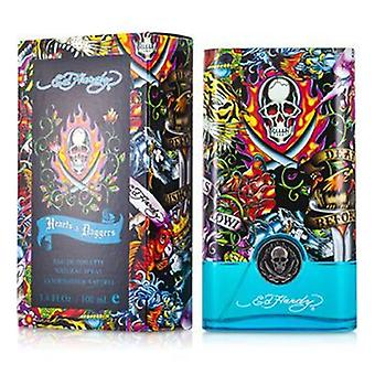 Christian Audigier Ed Hardy Hearts & Daggers Eau De Toilette Spray 100ml/3.4oz