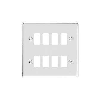 Hamilton Litestat Hartland lustro branco 8G Apert Gridfix placa + grade