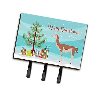 Carolines Treasures  BB9288TH68 Guanaco Christmas Leash or Key Holder