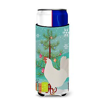 Leghorn Chicken Christmas Michelob Ultra Hugger for slim cans