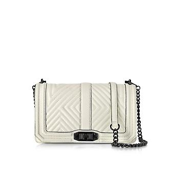 Rebecca Minkoff women's HT26MGQX08122A White Leather shoulder bag
