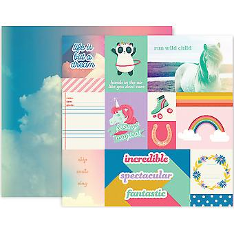 Wild Child Double-Sided Cardstock 12