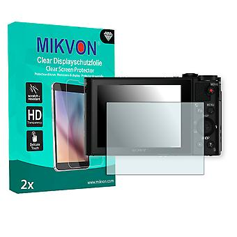Sony DSC-HX90V Screen Protector - Mikvon Clear (Retail Package with accessories)