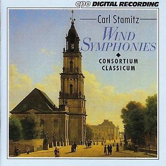 C. Stamitz - Carl Stamitz: Vent Symphonies [CD] USA import