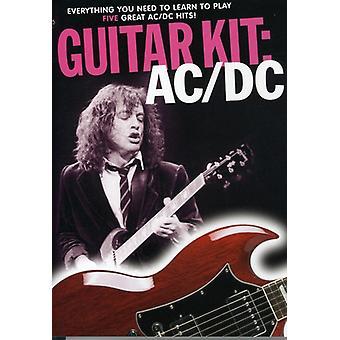 AC/DC - Guitar sæt [DVD] USA importerer