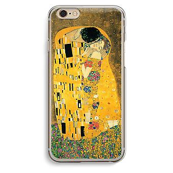 Iphone 6 6s Transparent Case (Soft) - Der Kuss