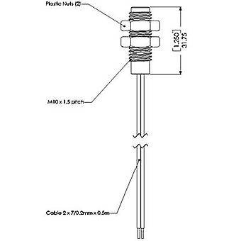 TE Connectivity Sensor PS 831 PS831 Position Switch For Screwing Into Plastic And Stainless Steel Normally open contact