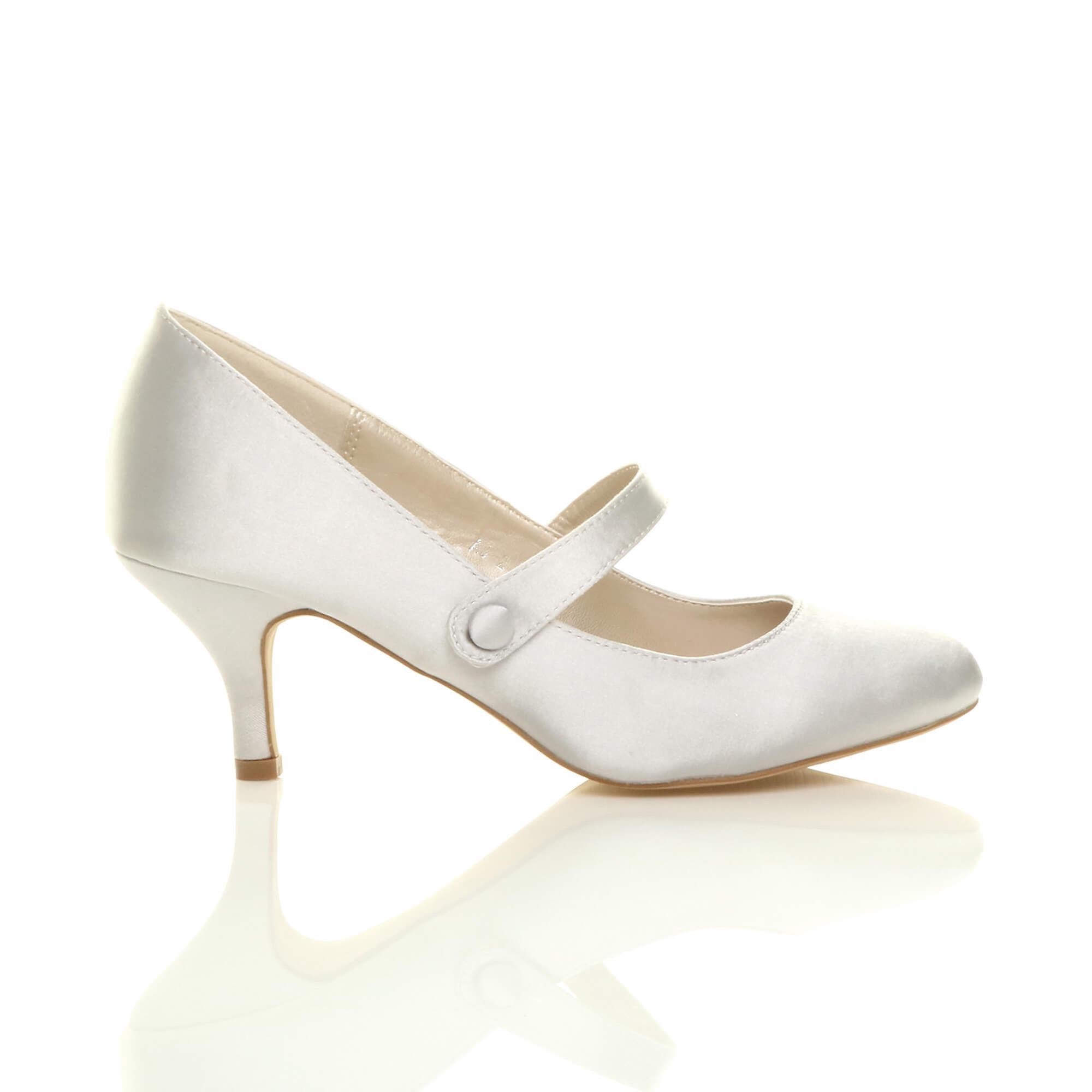 court jane mid Ajvani heel womens work pumps shoes strap party mary low qqFZzwU