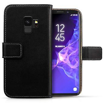 Samsung Galaxy S9 lederen portemonnee - Black