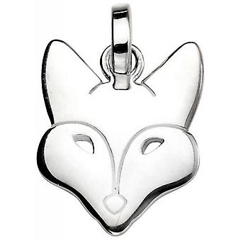 Beginnings Fox Pendant - Silver