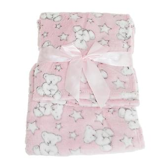 Snuggle Baby Baby Wrap For Someone Special With Teddy Bear And Star Design