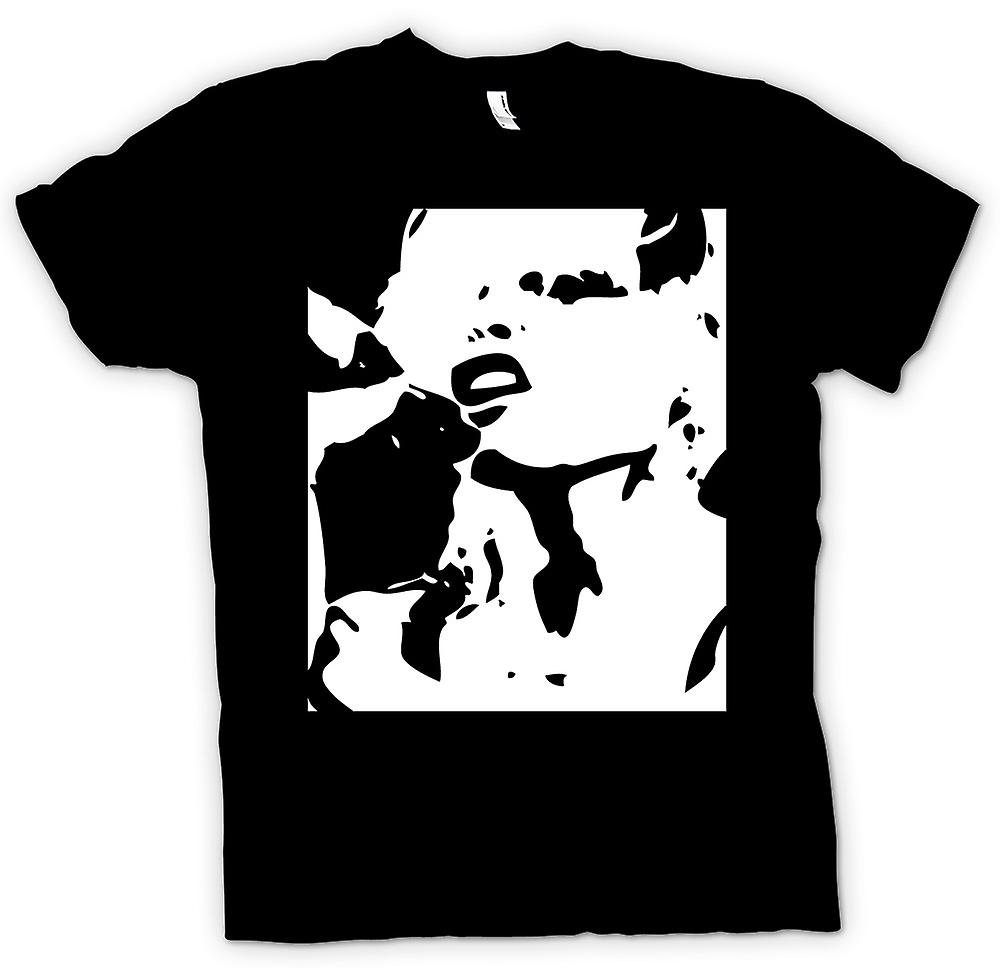 T-shirt - Blondie - retrò musica BW