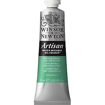 Winsor & Newton Artisan vatten blandbart olja färg 37ml (521 Phthalo Green YS S1)