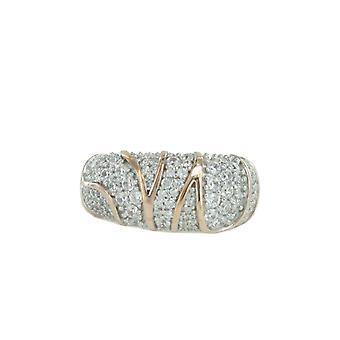 ESPRIT collection ladies ring silver Rosé cubic zirconia Adelphia GR 18 ELRG92513B180