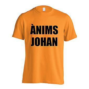 Johan Cruyff animación Johan camiseta (naranja)