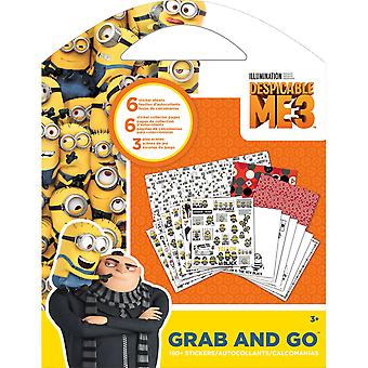 Despicable Me 3 Grab & Go Stickers & Activity Pages