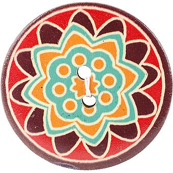 Global Chic Buttons-Ghana 1-3/4