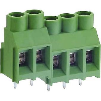 DECA MB912-635M02 Screw terminal 5.26 mm² Number of pins 2 Green 1 pc(s)