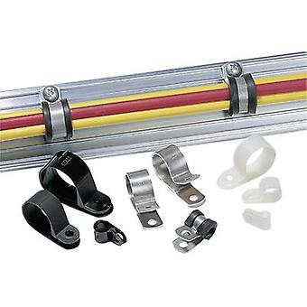 HellermannTyton 211-10120 ALU12 Verschluss Schraube Befestigung Silber 1 PC