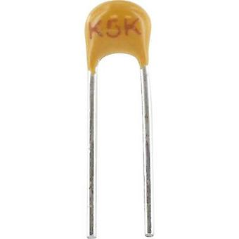 Condensador cerámico Radial plomo 47 nF 50 V 20%