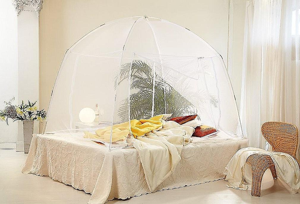 Mosquito net travel mosquito insect repellent mosquito net Mobile white 200 x 180 x 155 cm