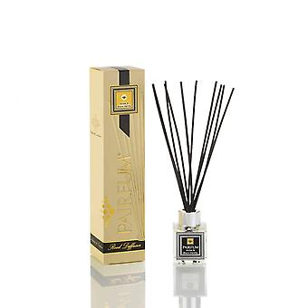 Natural Reed Diffuser - Long-lasting & Healthy - Beautiful Perfumes that Compliment You - Fragrance for 2-3 months (50 ml) - Anise & Black Vanilla by PAIRFUM - Black Reeds - Glass Cube