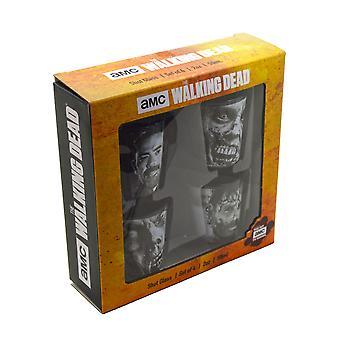 The Walking Dead Season 7 4 Pack Shot Glass Set