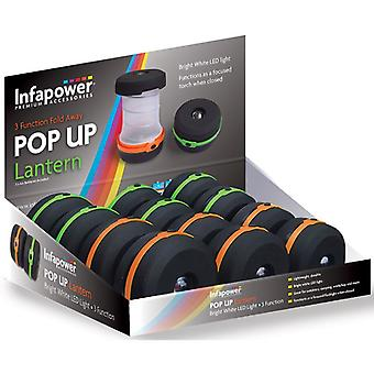 Infapower F028 3 Funktion Pop-Up-Laterne (Packung mit 12)