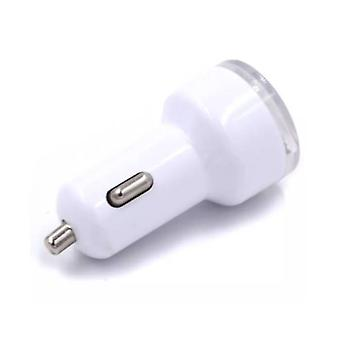 Stuff Certified ® 3-Pack High Speed ??Dual Car Charger / Dual Carcharger White