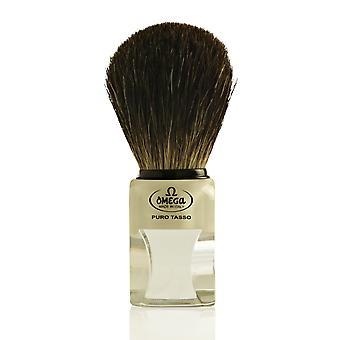 Omega 63164 Pure Badger Hair Shaving Brush