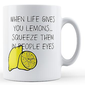 Life Gives You Lemons - Printed Mug
