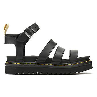 Dr. Martens Womens Black Vegan Blaire Sandals