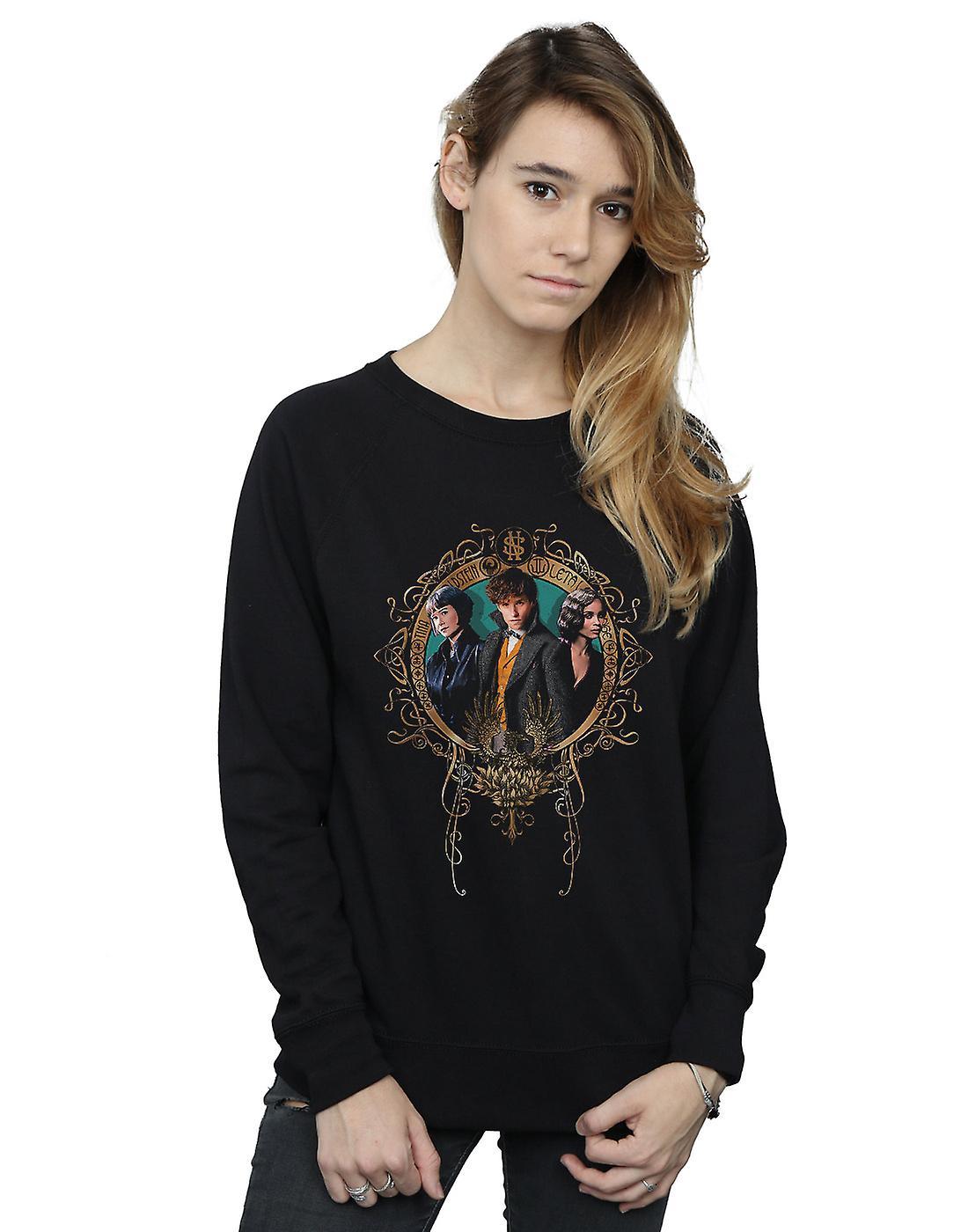 Fantastic Beasts femmes&s Tina, Newt And Leta Sweatshirt