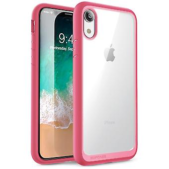 iPhone XR Case, [Unicorn Beetle Style Series] Premium Hybrid Protective Clear Case 2018 Release (Pink)
