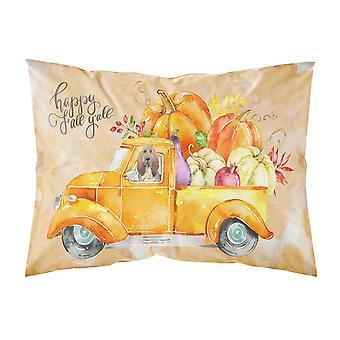 Fall Harvest Bloodhound Fabric Standard Pillowcase