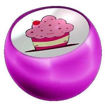 Lävistyksiä korvaaminen pallo vaaleanpunainen, laitoksen korut muffinssi kakku | 1,6 x 5 ja 6 mm