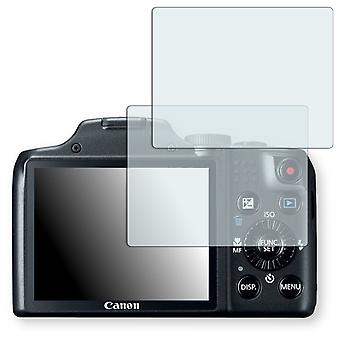 Canon PowerShot SX170 IS screen protector - Golebo crystal clear protection film
